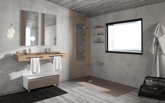 Piatti doccia in resina creativita 39 estetica e funzionalita 39 houselet - Doccia a filo pavimento ...