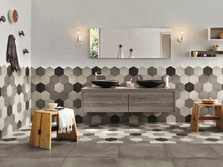 Vasca Da Bagno Piccole Dimensioni 120 : Laltezza ideale per il rivestimento delle pareti del bagno houselet
