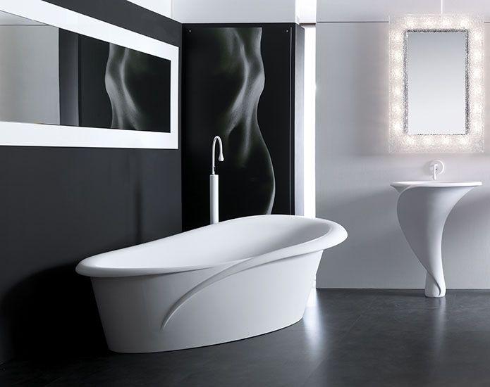 La vasca da bagno freestanging