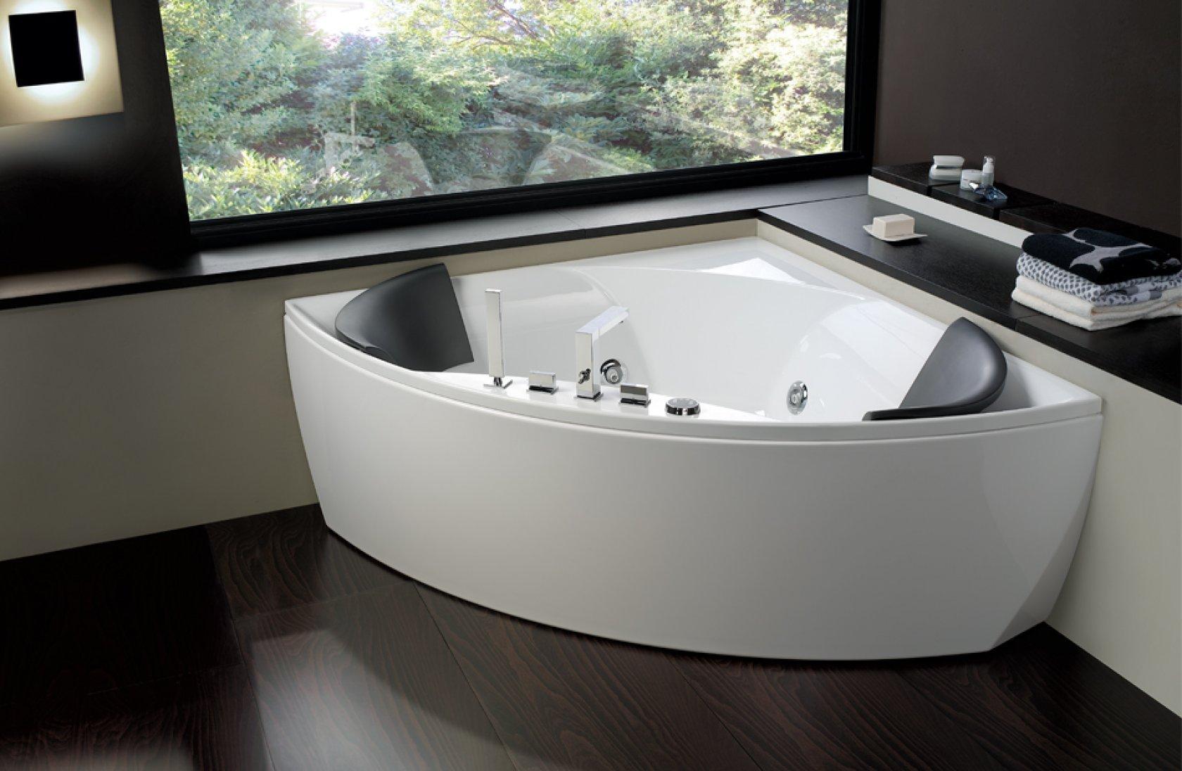 La vasca da bagno come sceglierla per avere una stanza - Vasca da bagno angolare misure ...