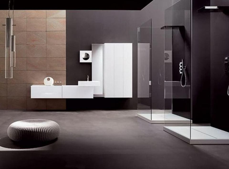 Bagno Stile Minimalista : Fleming minimal design bagno in stile in stile minimalista di