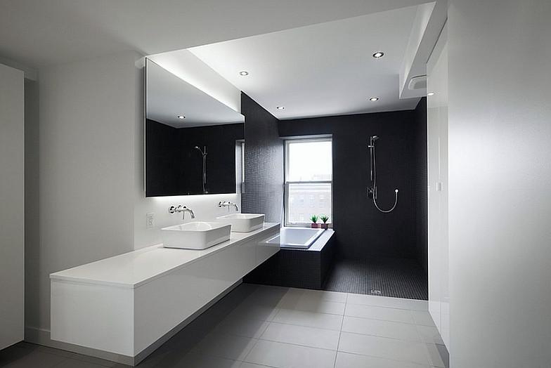 Bagno Stile Minimalista : Appartamento c g bagno stile minimal pubblicato da davide