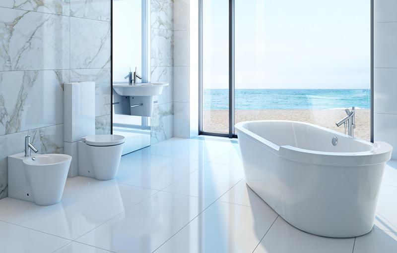 Consigli per modificare gli impianti bagno houselet - Posizione sanitari bagno ...